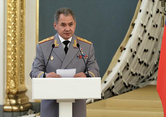 Минитср обороны РФ Сергей Шойгу