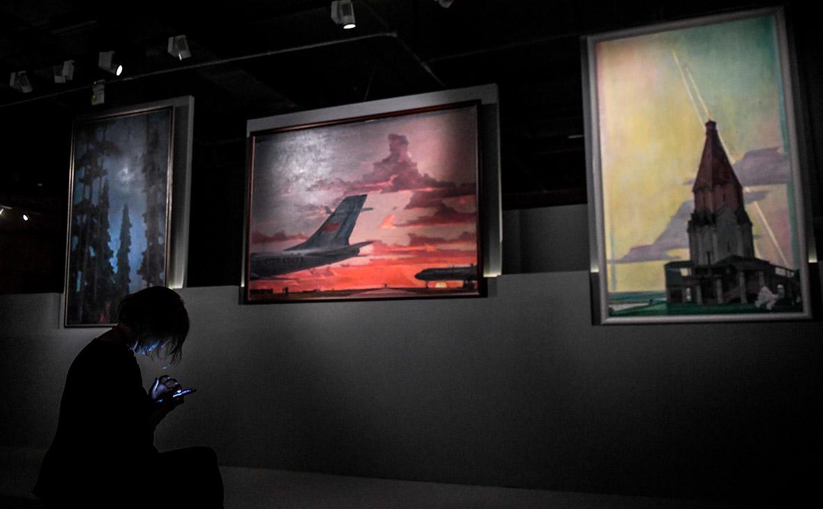 Выставка «Нисский. Горизонт» в «Институте русского реалистического искусства»