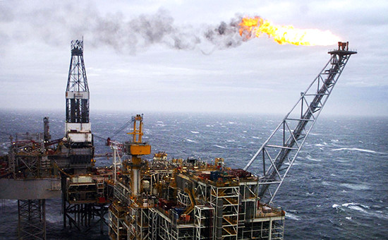 Нефтяная платформа Brent