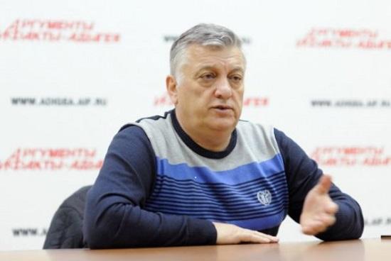 """Генеральный директор ЗАО """"Адыг-Юрак"""" Аслан Панеш."""