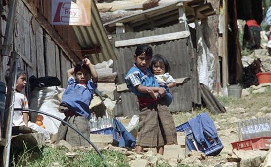 Жители мексиканского города Сан-Мигель-Чамула  