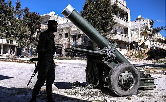 На улицах Алеппо