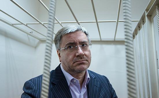 Дмитрий Амунц вовремя заседания Басманного суда Москвы. Август 2014 года