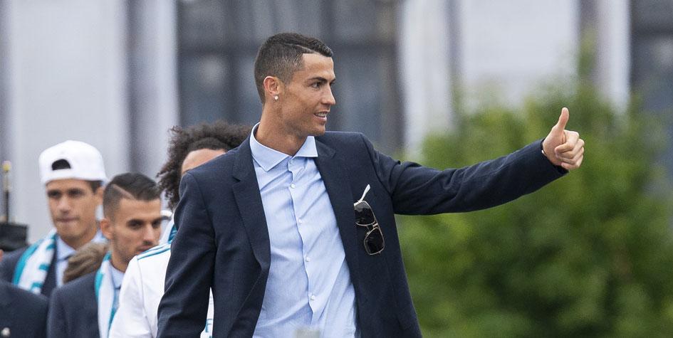 «Реал» убрал фотографию Роналду с официального сайта клубного магазина