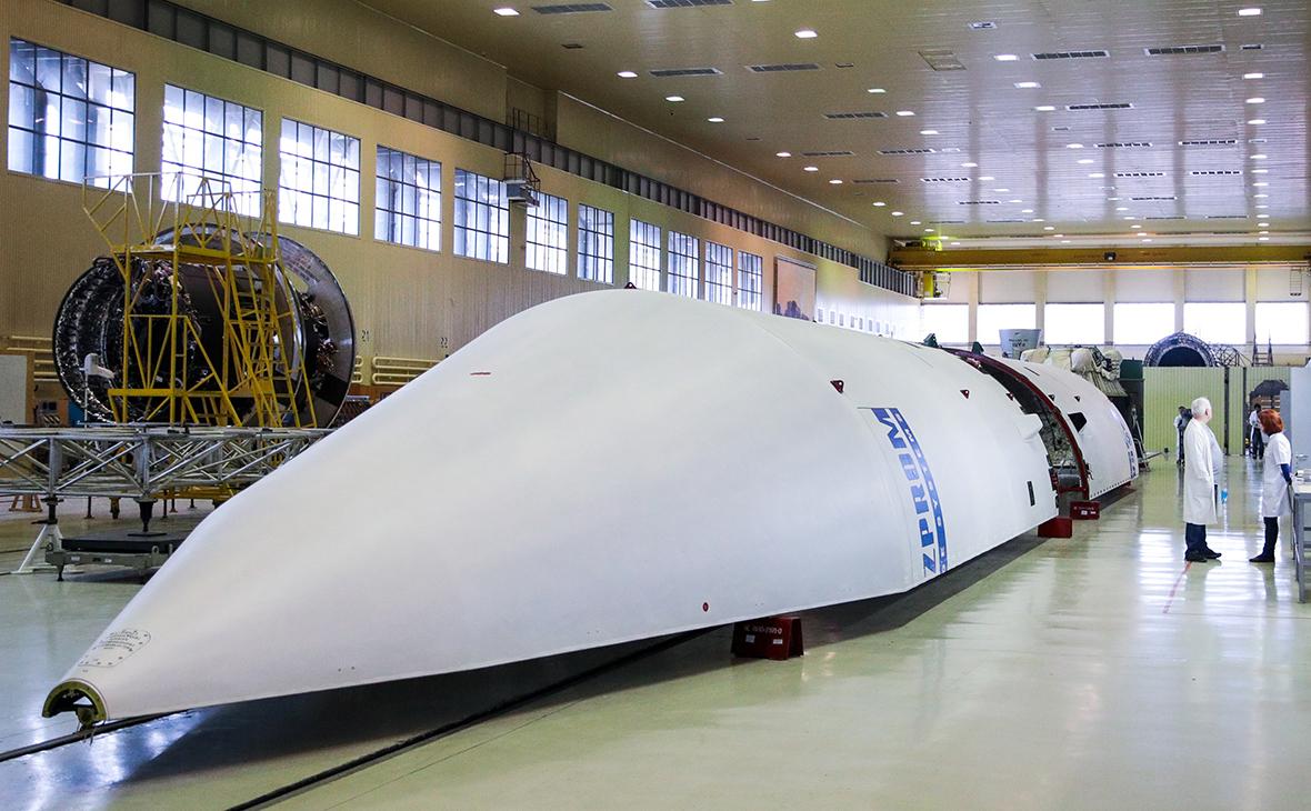 Цех сборки семейства ракет-носителей «Ангара»