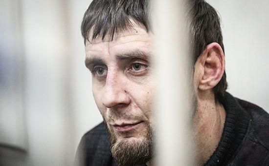 Обвиняемый вубийстве Бориса Немцова Заур Дадаев