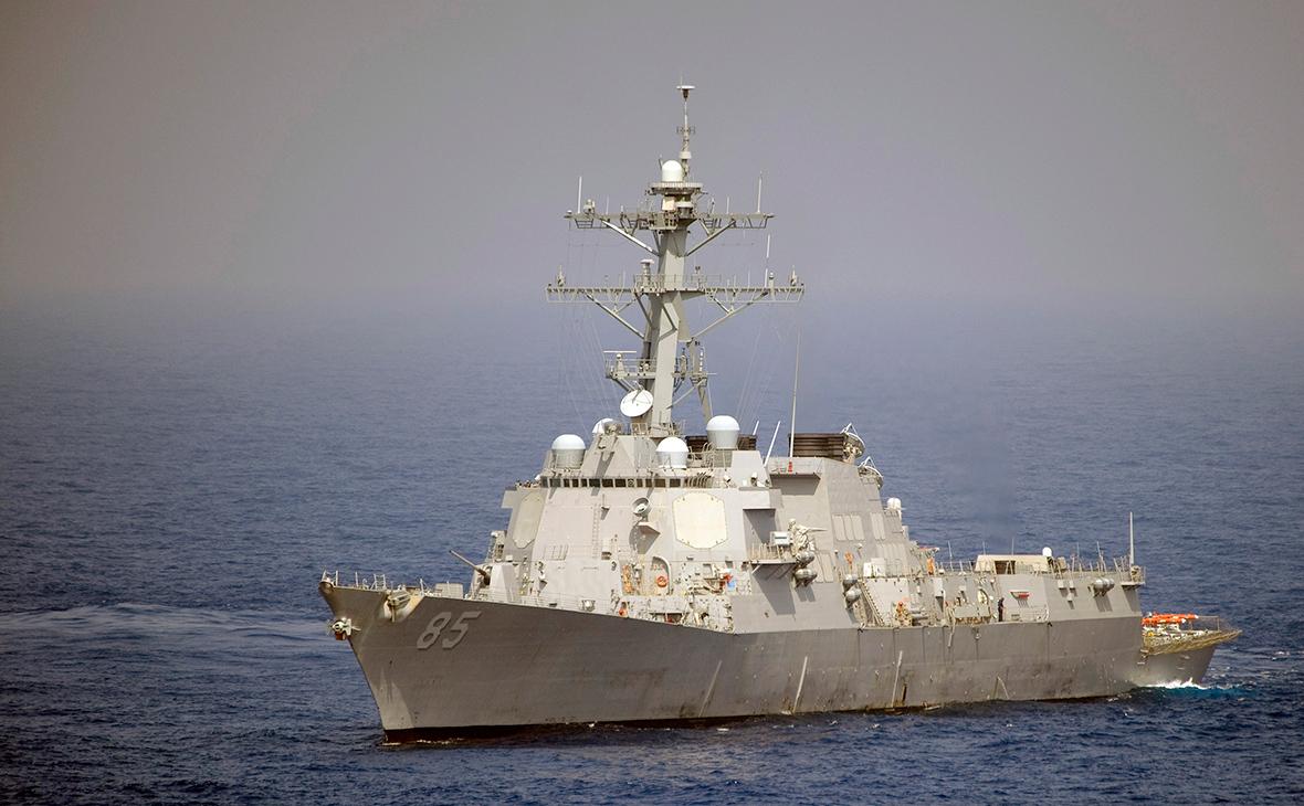Эсминец USS McCampbell