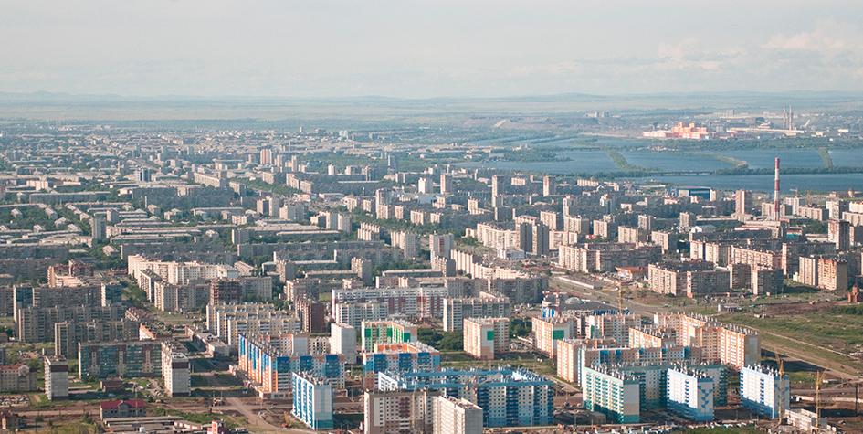 Вид на Магнитогорск — самые доступный крупный город России для покупки жилья
