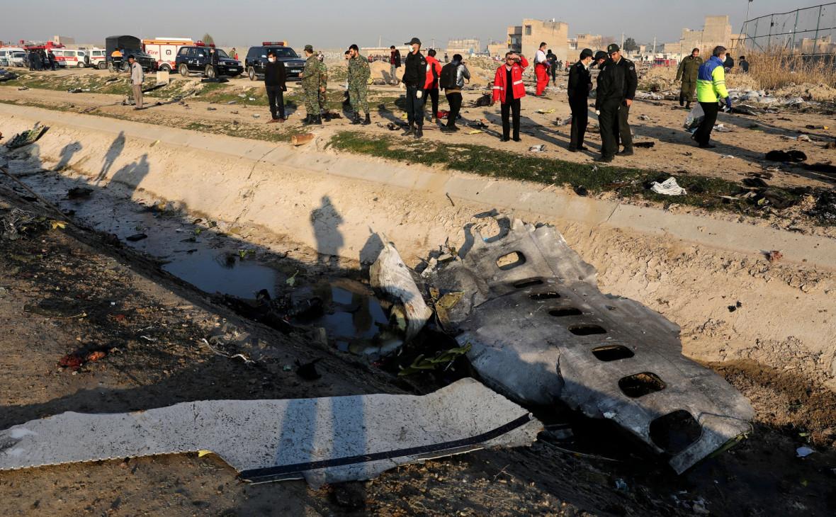 Иран назвал психологической войной версию о попадании ракеты в Boeing