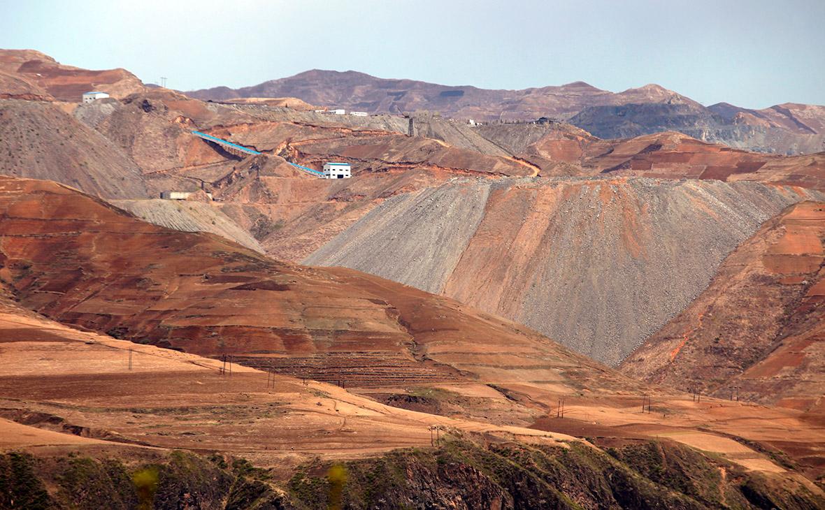 Железный рудник в Северной Корее
