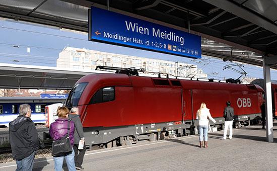 Вокзал Wien Meidling. 2009 год