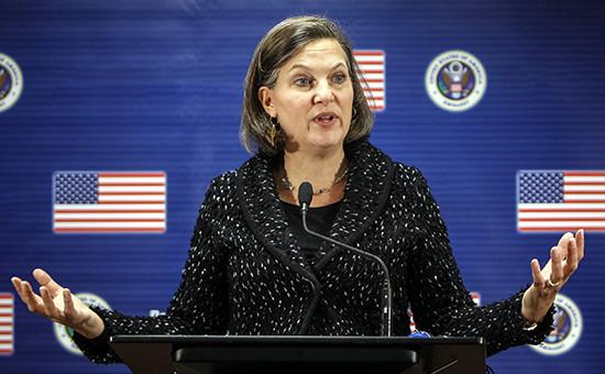 Представитель Госдепартамента США Виктория Нуланд