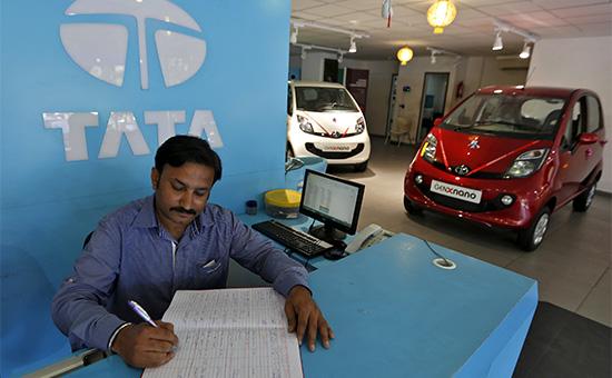 Салон индийского автопроизводителя Tata