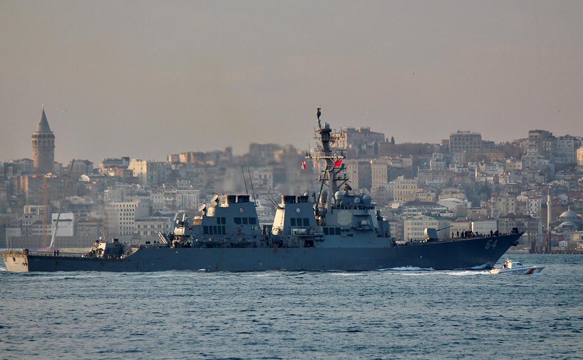 ВМС США усиливают свое присутствие в акватории Черного моря