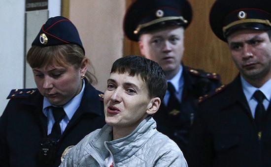 Украинская гражданка Надежда Савченко