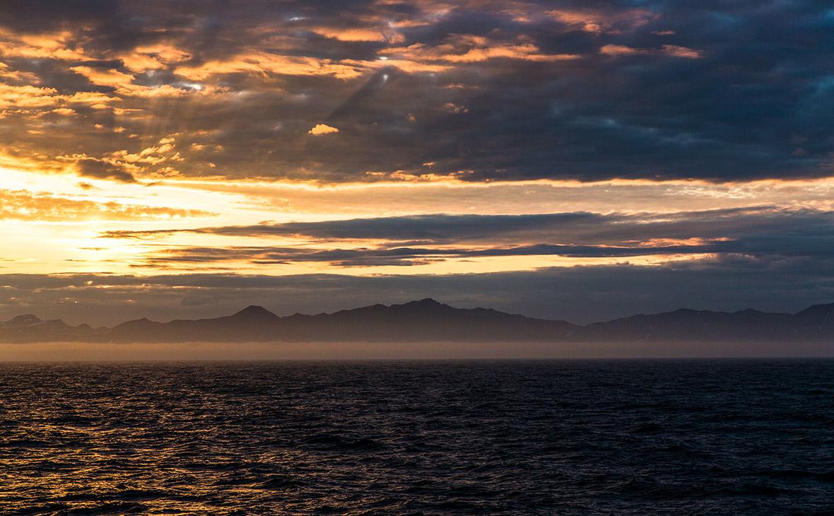Вид на остров Сахалин