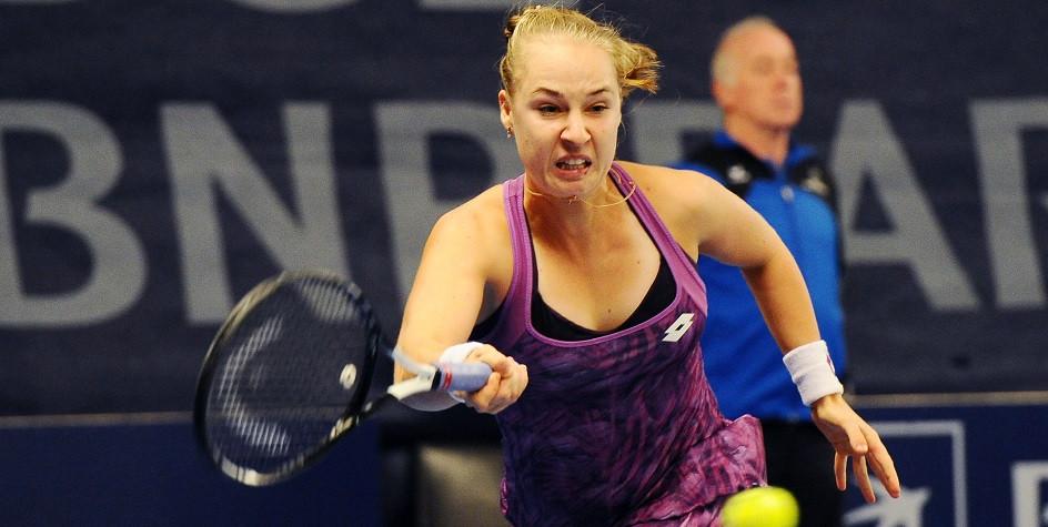 Теннисистка сборной России Анна Блинкова