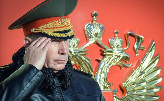 Первый замминистра внутренних дел Виктор Золотов