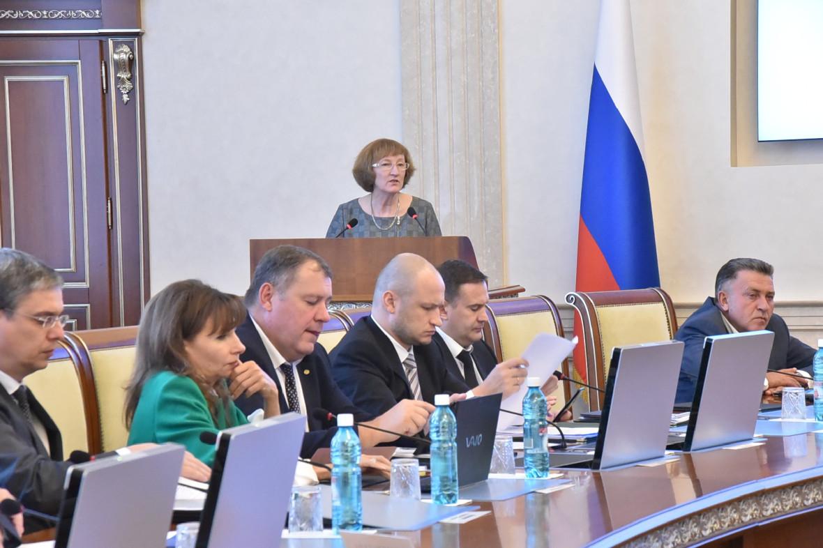 Выступление Ольги Молчановой на заседании правительства