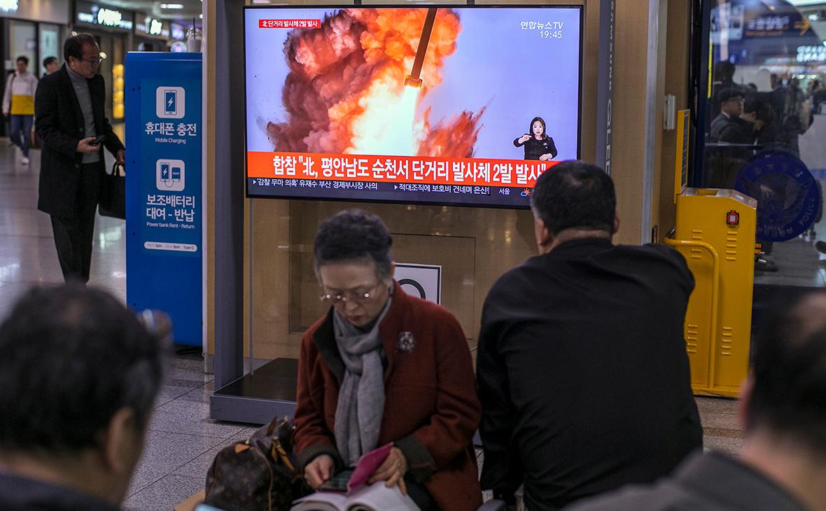 Сеул сообщил о запуске КНДР ракет накануне дня рождения Ким Ир Сена
