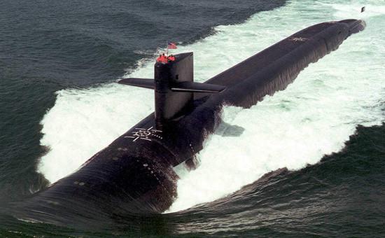 Американская атомная подводная лодка «Луизиана»