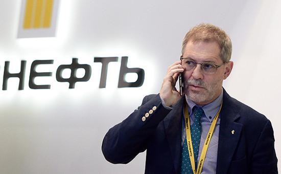 Пресс-секретарь «Роснефти» Михаил Леонтьев