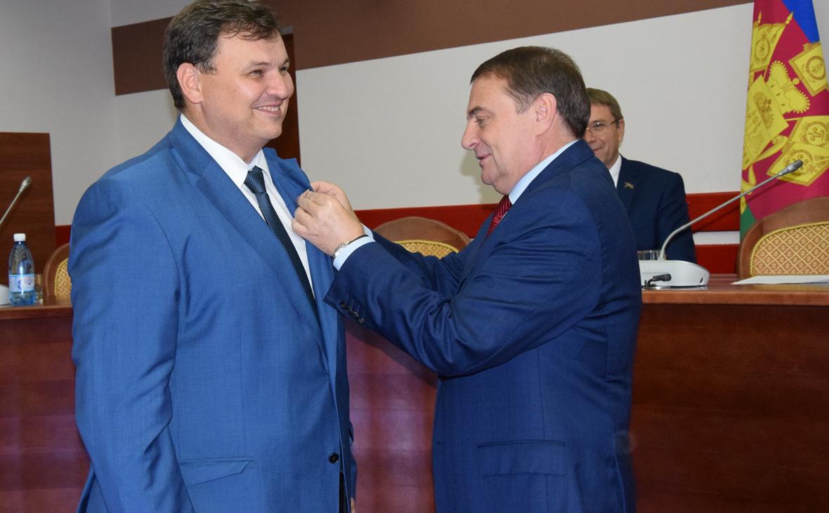 Фото: Владимир Пермяков и Анатолий Пахомов (Фото: sochiadm.ru)
