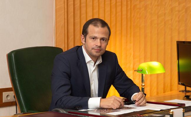 Гендиректор УК «Лидер Групп» Роман Лябихов