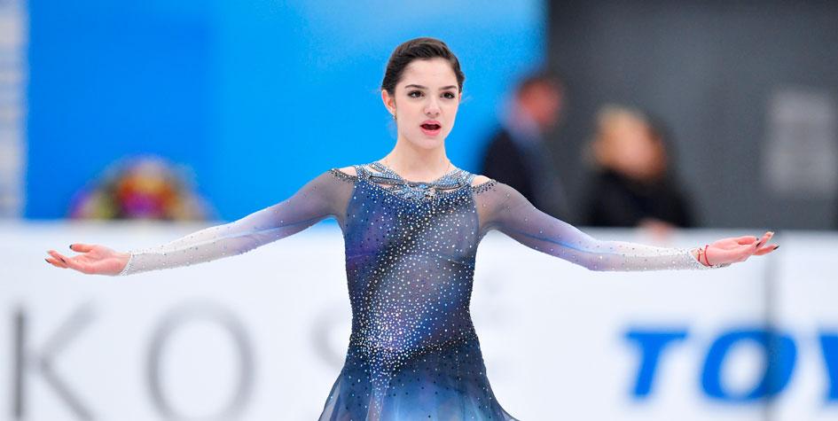Российские фигуристы выиграли более половины наград на домашнем Гран-при