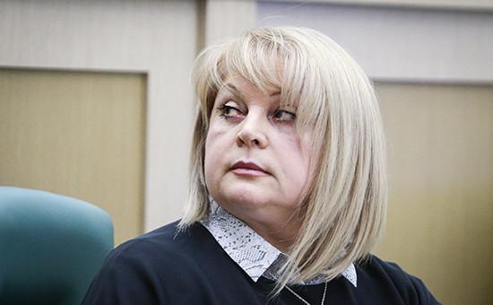 Уполномоченный по правам человека в России Элла Памфилова