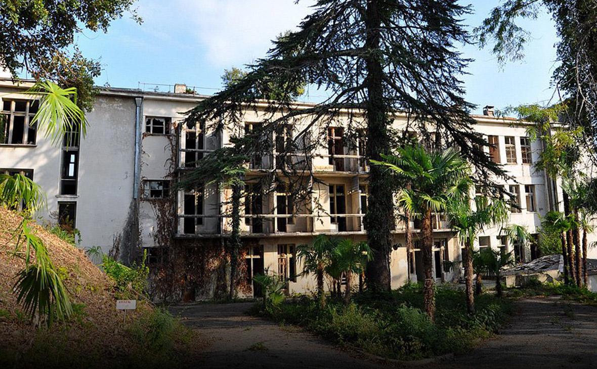 Здание Института курортологии и физиотерапии