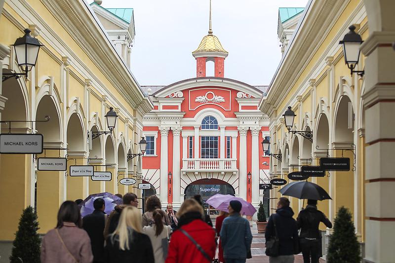 ТЦ Outlet Village Пулково на Пулковском шоссе в Петербурге