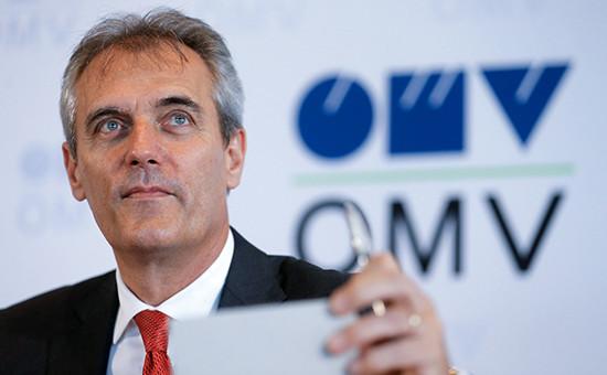 Председатель правления OMV Райнер Зеле