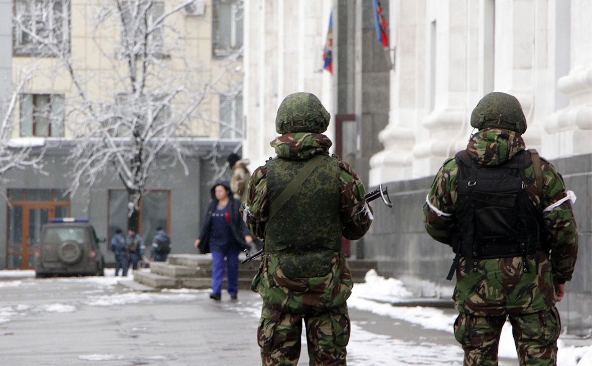 Луганск. Ноябрь 2017 года