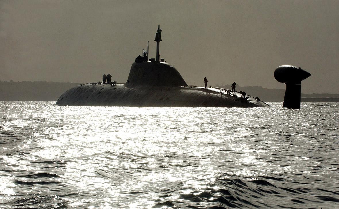 Атомная субмарина Chakra. Архив