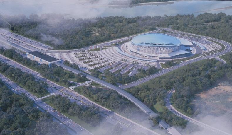 Экскизный проект будущей ледовой арены