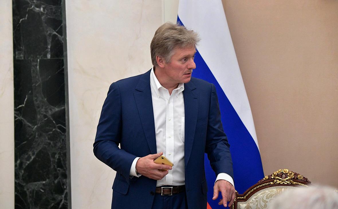 Песков назвал самопожертвованием работу правительства в условиях вируса