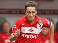 Футболист Владимир Быстров