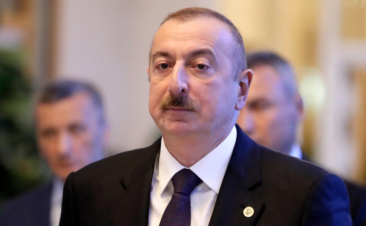 Алиев не согласился с отсутствием военного решения конфликта в Карабахе