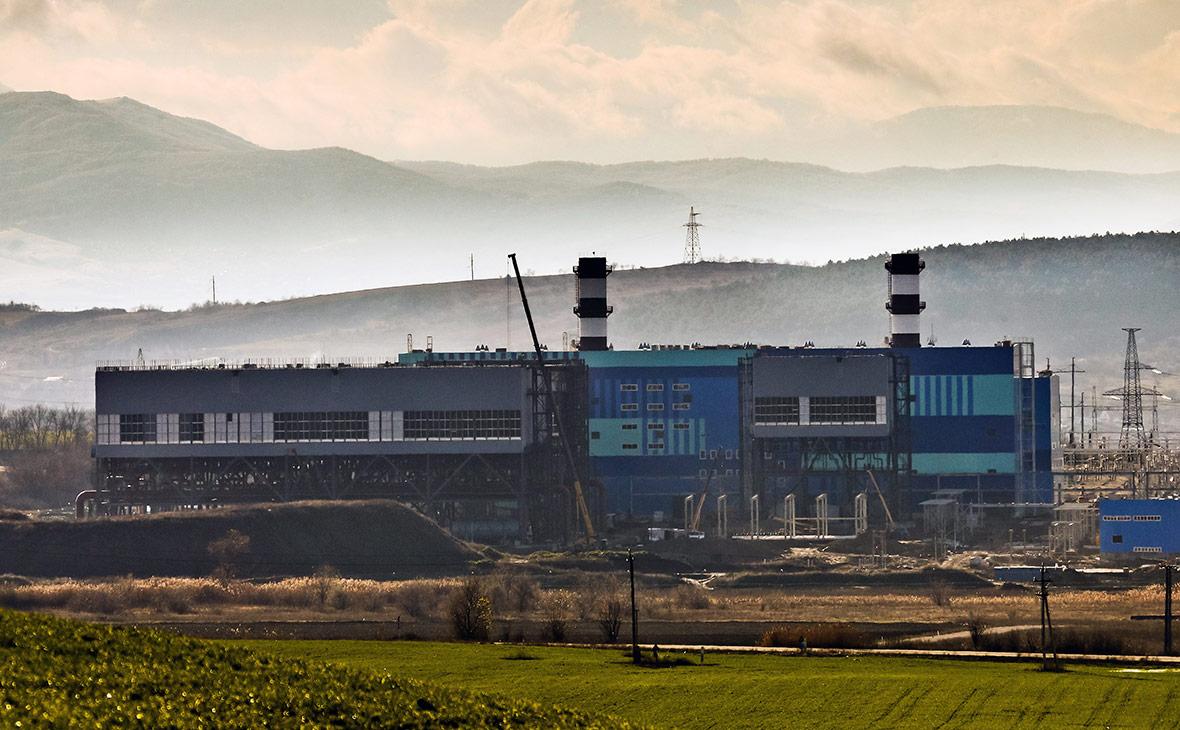 Строящаяся Симферопольская ТЭС