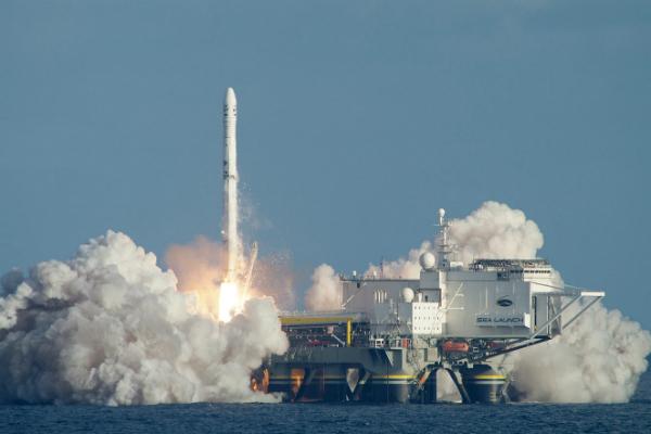 Плавучий космодром «Морской старт», собственником которого стала S7 Group