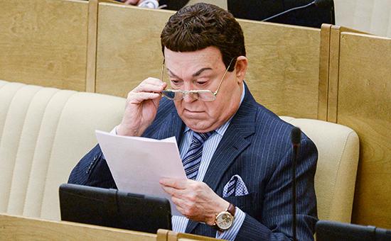 Первый заместитель председателя комитета Государственной думы РФ по культуре Иосиф Кобзон