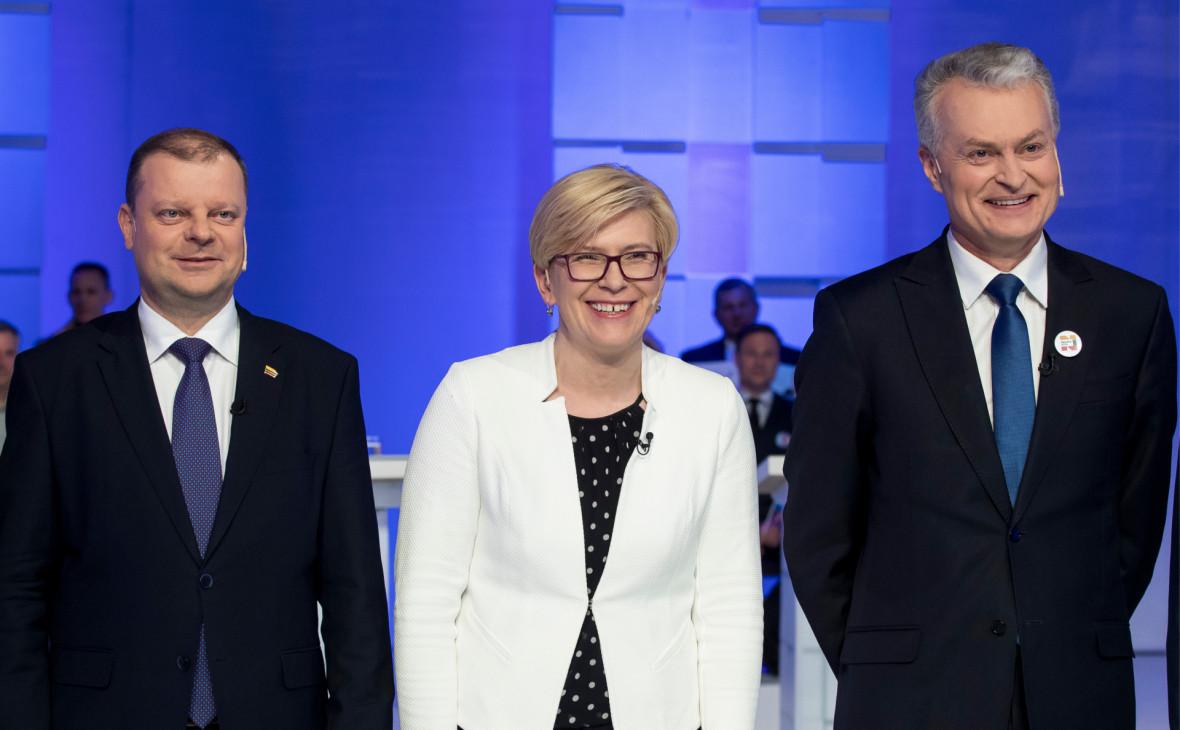 На президентских выборах Литвы определилась тройка лидеров