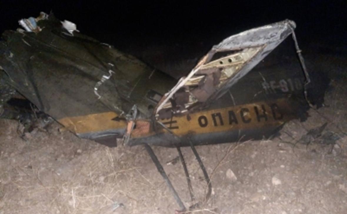 В Армении произошел инцидент с крушением российского вертолета МИ-24