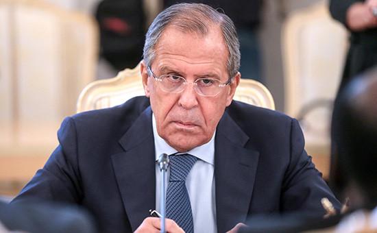 Глава российского МИДа Сергей Лавров