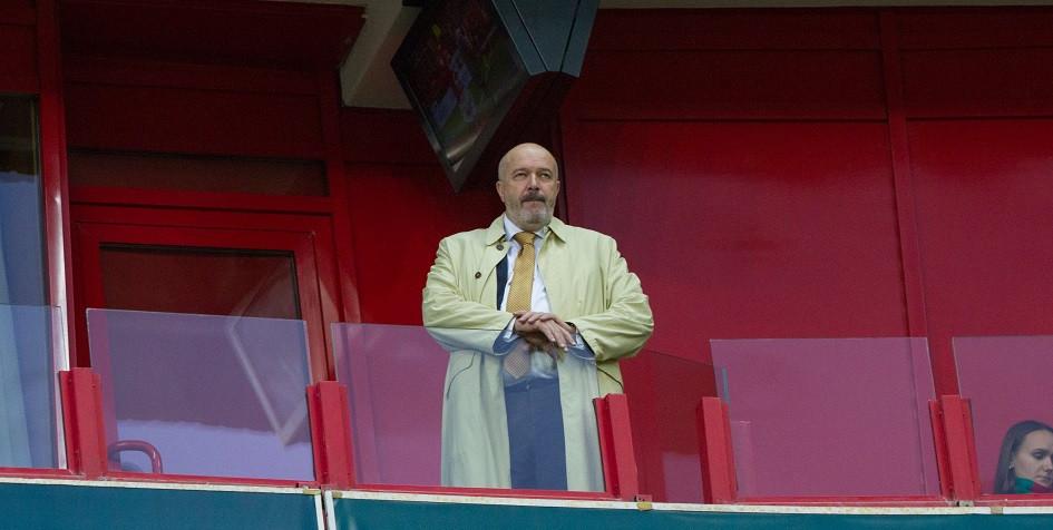 Генеральный директор «Локомотива» Василий Кикнадзе