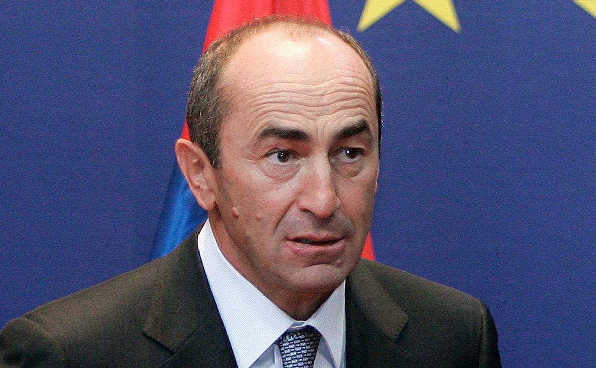 Роберт Кочарян.2008 год
