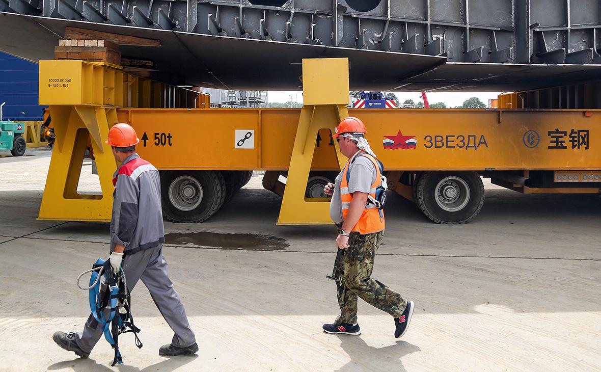 Китайская госкорпорация предложила «Роснефти» достроить верфь «Звезда»