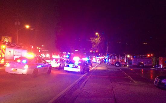 Полиция у ночного клуба в Орландо