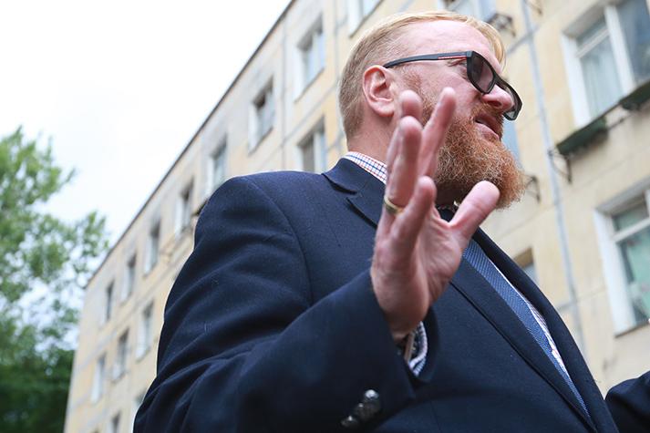 Член комитета Госдумы РФ по международным делам Виталий Милонов